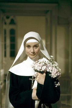 Audrey Hepburn - the nun's story - I just watched this again yesterday.