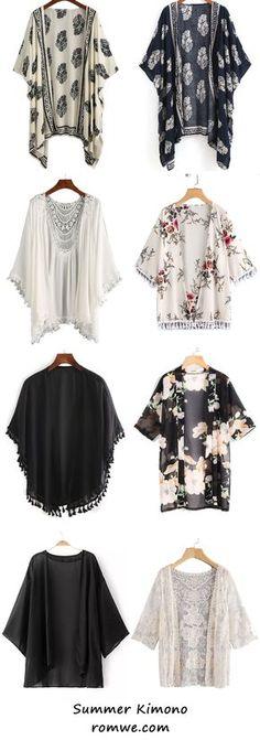 New Diy Summer Fashion 2018 Ideas Women's Summer Fashion, Look Fashion, Autumn Fashion, Womens Fashion, Fashion 2018, Trendy Fashion, How To Wear Cardigan, Dress With Cardigan, Kimono Cardigan