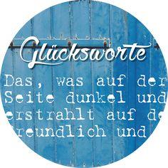 """Glücksvilla - Online Galerie: Kategorie """"Glücksworte & Zitate"""""""