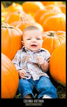 www.corinnahoffman.com - Baby Fall Session - Jacksonville FL Family Photographer