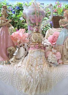 Marie Antoinette Beautiful Tassel Pink-tassel, marie, antoinette, doll, luxury, closet, antoinette,