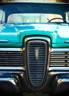 Classic Car Photo Ford Edsel Vintage automobile by MollysMuses