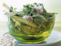 The surprising combination of crab, green apple, avocado and Parmesan gives salad a new spin.