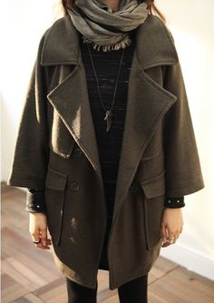 perfect fall coat / via modern hepburn