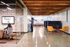 Contract Magazine. Start-up Style: AOL West Coast Headquarters by Studio o+a