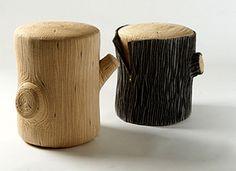 stump stool - Google Search