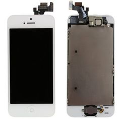 California Mobile Parts - New Replacement LCD Display Touch Digitizer Screen Assembly for iPhone 5S White!!!!  We suggest you buy a brand new screen and take this new screen to your local repair shop to replacement. This will save you much money. By the way, if you broke the LCD display, you need replace the LCD screen too. Please contact Gadgetfix today at 1 844 842 3438 for the best services, and let Gadgetfix do the rest. http://gadgetfix.com/