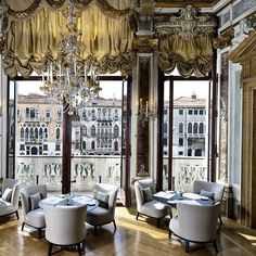 Aman Canal Grande confidently combines high Baroque opulence — gilded gold mirrors and Cesare Rotta frescoes — with contemporary pieces set in neutral tones and metallics.