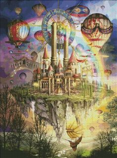 Tarot Town Two [MARCHETI81657] - $19.00 : Heaven And Earth Designs, cross…