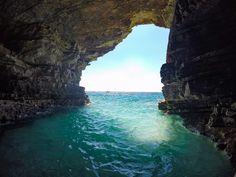 Inside a cave at Rt Kamenjak Premantura Croatia [OC] [4000x3000]