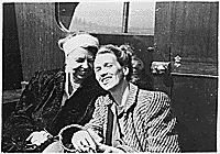 Eleanor Roosevelt and Anna Roosevelt, 1941