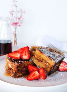 A simple twist on the classic french toast, these toasties are oozing with sweet sticky caramelised banana. I like to use a chewy sourdough but any good quality bread will work nicely. Brunch Recipes, Sweet Recipes, Breakfast Recipes, Breakfast Ideas, French Toast Waffles, Caramelized Bananas, Caramel Recipes, Bread And Pastries, No Bake Treats