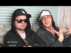 HOLLYWOOD UNDEAD GET A PIECE OF THE EMINEM BIZKIT? - YouTube