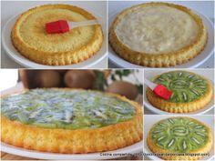 Cocina compartida: Tarta de crema de limón y kiwis