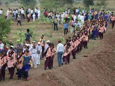Volunteers in India planted more than 66 million trees in just 12 hours in a record-breaking environmental drive. About 1.5 million people were involved in the huge plantation campaign, in which saplings were placed along the Narmada river in the state of Madhya Pradesh throughout Sunday. India committed under the Paris Agreement to increasing its forests by five million hectares before 2030 to combat climate change.
