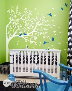 Tree Wall Decal  Nursery Wall Decoration  ree Wall by WallConsilia, $85.00