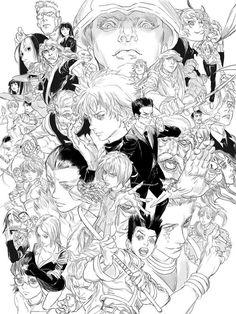 Hunter X Hunter, Reference Manga, Manga Anime, Anime Art, Character Art, Character Design, Fan Art, Manga Illustration, Anime Sketch