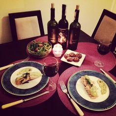 X-mass dinner with my friend