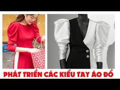086- Cách may tay áo kiểu đẹp : KIỂU TAY PHỒNG ĐỔ - YouTube Kurti Sleeves Design, Sleeves Designs For Dresses, Blouse Back Neck Designs, Fancy Blouse Designs, Designer Blouse Patterns, Dress Sewing Patterns, Churidar Neck Designs, Sewing Sleeves, Stitching Dresses