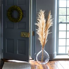 Add texture, dimension, and height to indoor arrangements, entryways, or mantels with this dried pampas grass stem from South America. - Dried pampas grass stem - Indoor use only - Grass may shed; gently shake to remove loose pieces - South America Dried Flower Arrangements, Dried Flowers, Outdoor Garden Furniture, Furniture Decor, Living Room Decor, Bedroom Decor, Grass Decor, Dry Plants, Nooks