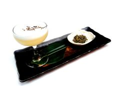 """""""T10 Club"""" - Tanqueray 10 Gin, hoime-made Jasmine Tea syrup, Dash of Plum Wine. Available £4 per cocktail, during London Cocktail Week only!"""