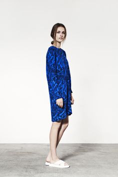 JUST FEMALE SS 2015 / Paint Dress // Model : Emma Oak