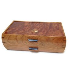 Mikutowski Woodworking - Cherry and Bubinga Grand Jewelry Box