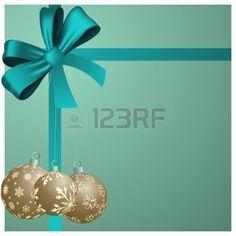 fond clair avec des décorations des rubans: Fond de Noël. illustration avec des mailles. Illustration