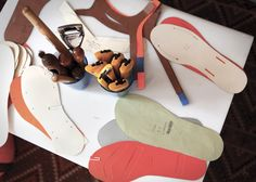 details from my adventure in bespoke sandal making with rachel corry of rachel sees snail shoes in san francisco, ca. i...