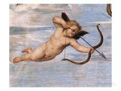 Detail of Cupid from Galatea Giclee-vedos tekijänä Raphael AllPosters.fi-sivustossa