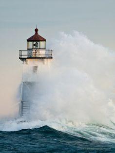 Grand Marais Lighthouse. Love it here!