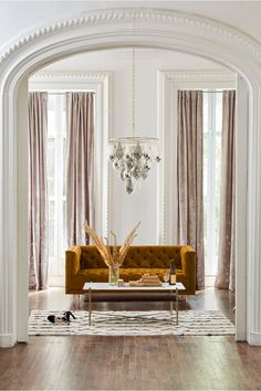 Discover the newest additions to Anthropologie's house & home collection. Shop new furniture, decor, storage & more for your home. Style At Home, Interior Design Inspiration, Living Room Inspiration, Color Inspiration, Living Room Decor, Living Spaces, Dining Room, House Ideas, Home And Living