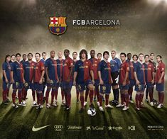 Barcelona's soccer team...love them beyond measure :-)