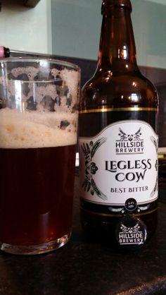 Hillside Brewery Legless Cow Best Bitter