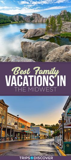 9 Best Family Vacations in the Midwest - Schonsten-urlaubsziele Cheap Family Vacations, Midwest Vacations, Best Family Vacation Spots, Best Island Vacation, Family Resorts, Family Vacation Destinations, Family Travel, Cheap Beach Vacations Usa, Family Summer Vacation Ideas