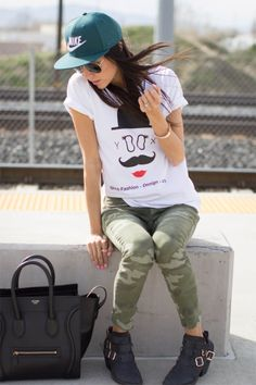 Nike Girl..... Ok in a way this is pretty cute :)