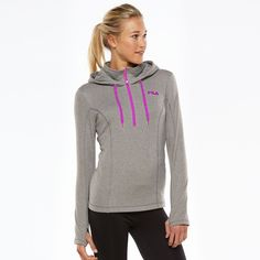 Fila Sport Quarter Zip Running Hoodie-Size Medium Fila Sport Quarter Zip Running Hoodie-Size Medium. Soft Fleece, Perfect for Medium to High Impact Exercise. Princess Seams, Thumbholes keep sleeves in place, Zippered Pocket. Semi-Fitted & Machine Washable. Worn Twice and Still Looks NEW! Mint Condition! Has 4.2on their Website. Very Flattering and Stylish Active Wear! Fast Shipping! Smoke Free Home! Open to Offers on my Items or 15% off Bundles! Top 10% Seller! Fila Jackets & Coats