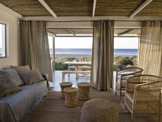 Photos via: Marie Claire Maison Imagine the rest and relaxation you could get at this beach retreat in Pasternoster, South Africa. Exterior Design, Interior And Exterior, Bisque Interiors, Interior Design Pictures, House Rooms, House 2, Dream Bedroom, Coastal Living, Living Spaces