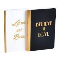 Cuaderno.diseño Frases Set X 2. Hojas Blancas.organizza