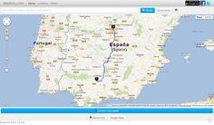MapRuta, utilidad web para conocer y planificar las rutas más cortas entre dos lugares