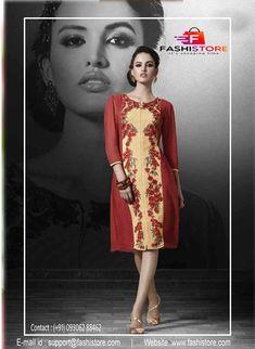 Indian Ethnic Designer Anarkali Party Wear Kurta Kurti Bollywood Tunic-1108