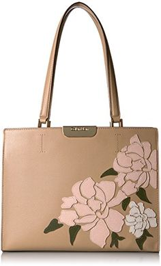 Calvin Klein Lola Floral Applique Satchel Nude >>> Click image for more details. (This is an affiliate link) Calvin Klein Handbags, Women's Oxfords, Tote Bags, Cute Dresses, Clutches, Applique, Satchel, Image Link, Christmas Gifts