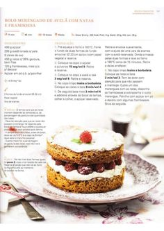 150 receitas Bimby (melhores de 2014) Low Fodmap, Recipe Cards, Gluten Free Recipes, Free Food, Dairy Free, Cheesecake, Healthy Eating, Cooking, Sweet