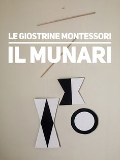 Il Munari - La prima giostrina montessori (template) — La tela di Carlotta