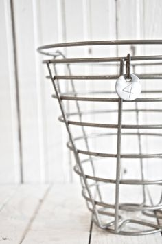 Wire baskets. For organizing.