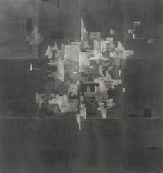 Allocating Space, Charcoal on Paper Composite, 1200 x 1120mm Collection: Wallace Arts Trust, Auckland. 2011