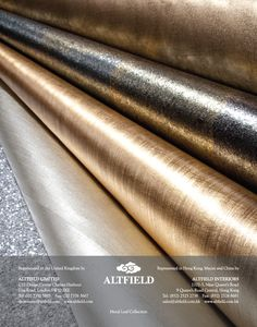 Altfield- Metal Leaf Collection