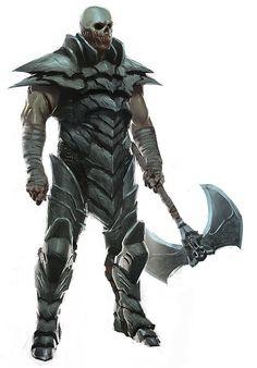 Kraetar the undead Dark Fantasy, Fantasy Armor, Medieval Fantasy, Fantasy Monster, Monster Art, Armor Concept, Concept Art, Fantasy Creatures, Mythical Creatures