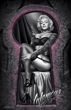 Infamous Marilyn Monroe 2016 Og.Gonzales