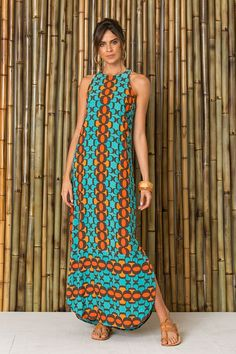 I like the rounded hem African Print Dresses, African Print Fashion, African Fashion Dresses, African Dress, Modest Fashion, Boho Fashion, Fashion Outfits, Fashion Fall, Cute Dresses